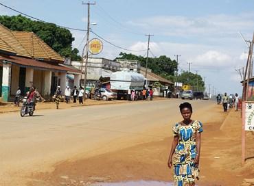 Foto che ritrae una donna Africana