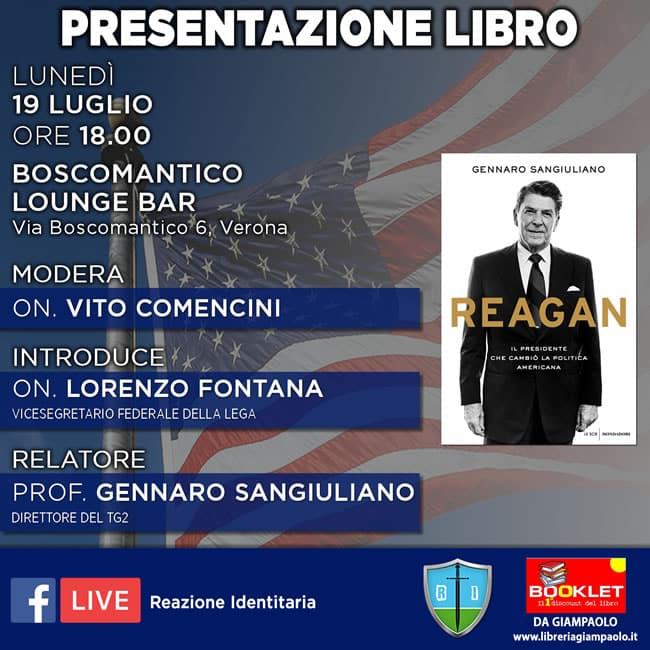 Banner presentazione Reagan